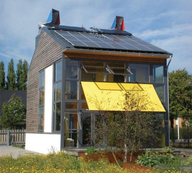 Una casa sostenible la orientacin los aislamientos la - Orientacion casa ...