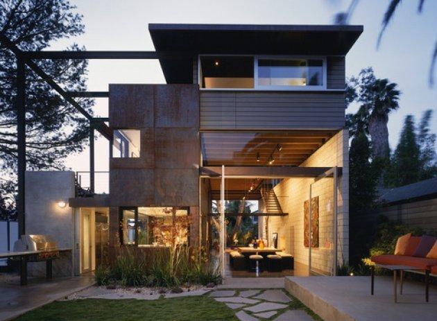 Una casa de estructura steel frame - Casas steel framing ...