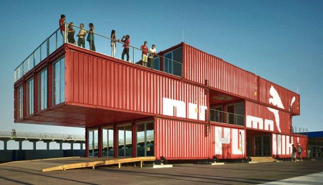 El uso de contenedores de barco en arquitectura - Contenedores de barco ...
