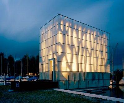 las fachadas de cristal ligeras y transparentes