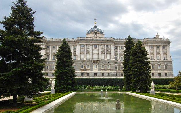 Jardines de sabatini en madrid - Jardines palacio real madrid ...