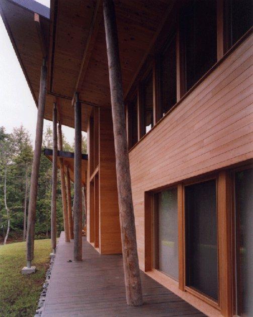 Una casa hecha con troncos de madera - Casas troncos de madera ...