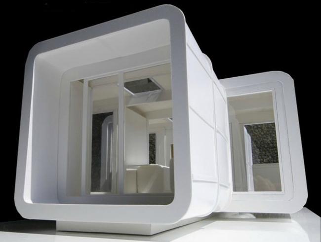 M dulos prefabricados para construir viviendas for Construcciones efimeras