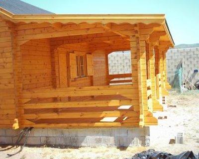 Casa prefabricada de madera de 90m2 modelo perello - Casa prefabricada madera ...