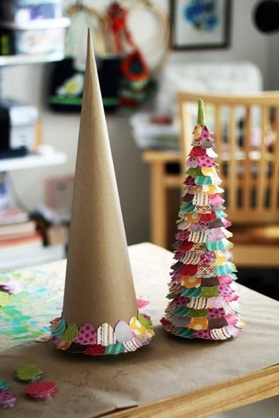 Rboles de navidad originales y diferentes - Hacer arbol de navidad original ...