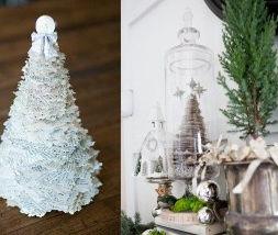 Como hacer arbol de navidad de periodico