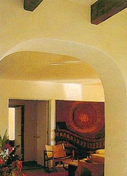 El arco un recurso decorativo que sustituye a las puertas
