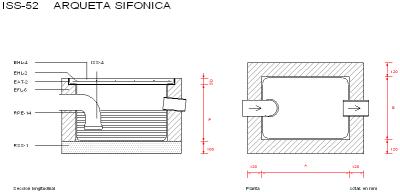 Arquetas sifonicas red de saneamiento - Arquetas prefabricadas pvc ...