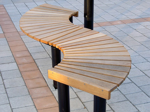 Mobiliario urbano. Los bancos de nuestras calles