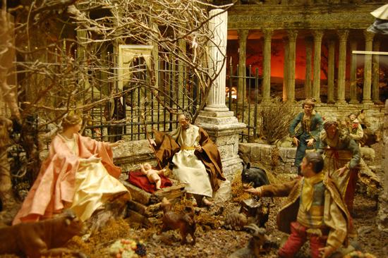 Decoracion de navidad belenes