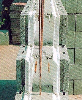 Bloque de hormig n con aislamiento - Construir con bloques de hormigon ...