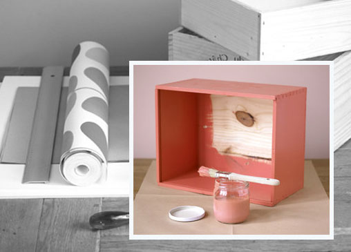 Cmo aprovechar las cajas de madera de vino para hacer - Hacer cajas de madera ...