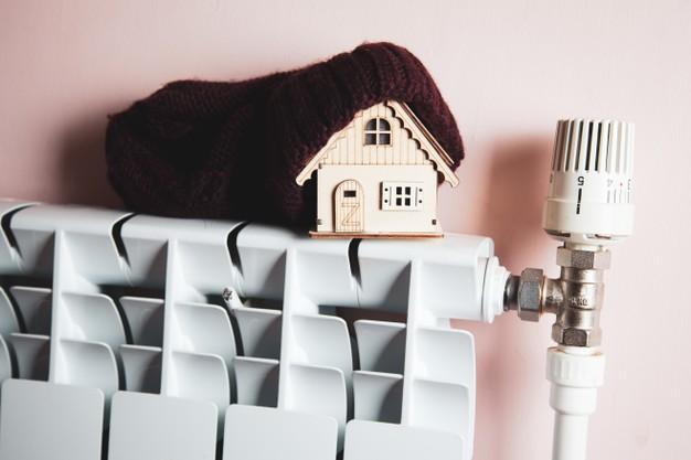 como calentar una casa