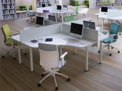 Qu mobiliario elegir para un centro de trabajo dentro de for Empleo mobiliario oficina