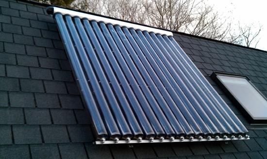 Tubos solares de vaco energa solar trmica - Placa solar termica ...