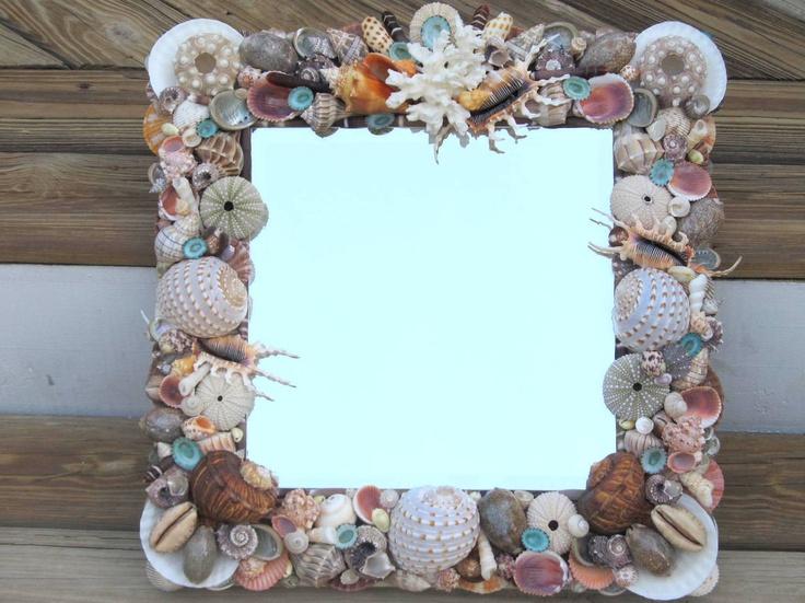 Utilizar las conchas del mar para decorar