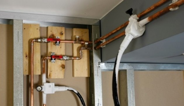 cmo reparar una tuberas de agua o calefaccin sin vaciar la