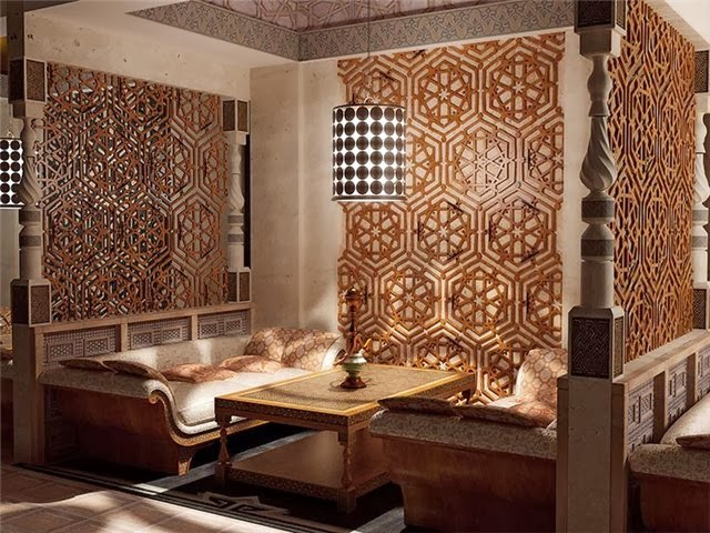 El dise o rabe una alternativa de decoraci n for Dining room in arabic