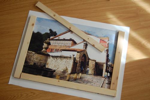 Como enmarcar un poster en casa beautiful piper azteca - Enmarcar cuadros en casa ...
