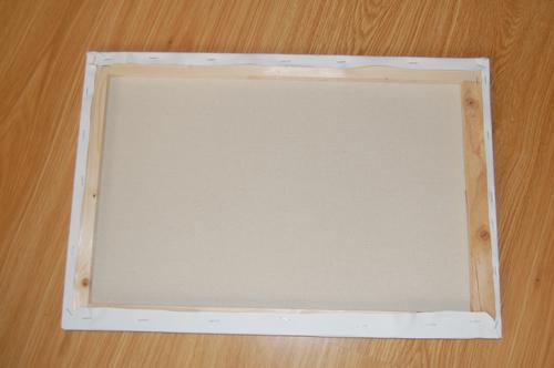 Cmo enmarcar un cuadro en un bastidor de madera - Como enmarcar un lienzo ...