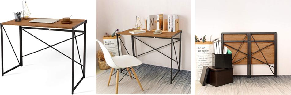 Cómo conseguir espacio creando tu mesa de escritorio plegable.