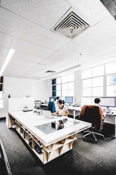decorar un estudio de arquitectos