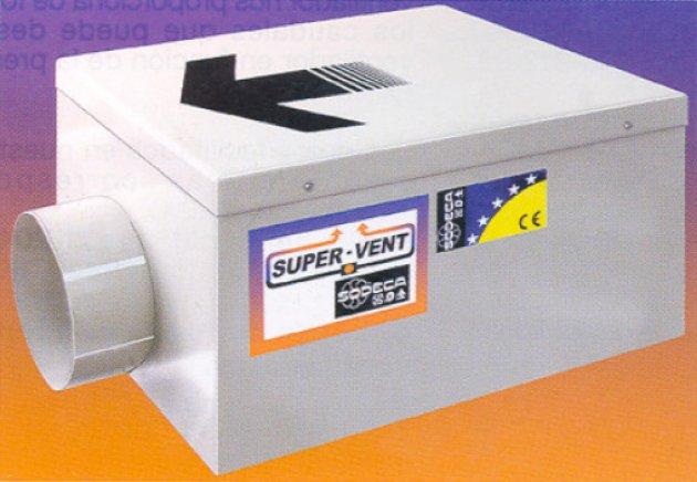 Extractores De Baño Para Falso Techo:Extractores de aire para cuartos húmedos Sistemas de ventilación y