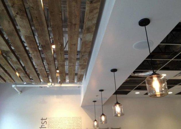 Un proyecto falso techo de palets - Ideas para techos ...