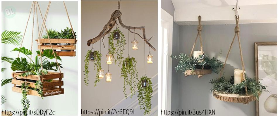 Ideas para introducir la naturaleza en tu casa.