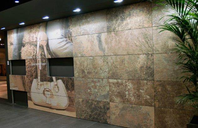 Azulejos para paredes exteriores materiales de for Materiales para patios exteriores