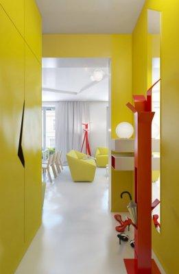 Elección de colores para decoración interior.