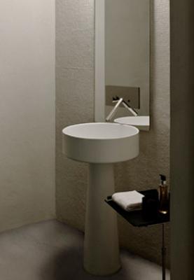 Tipos de lavabos seg n su material y tipolog a - Muebles para lavabos con pie ...