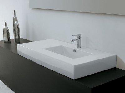 Tipos de lavabos caracter sticas for Lavabo bajo encimera rectangular