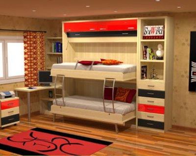 Camas abatibles para mi dormitorio - Muebles para ahorrar espacio ...