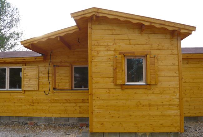 Terminaciones interiores de casas de madera - Casas de madera valencia ...