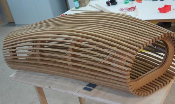 Perfiles de madera curvables en fro for Perfiles de madera