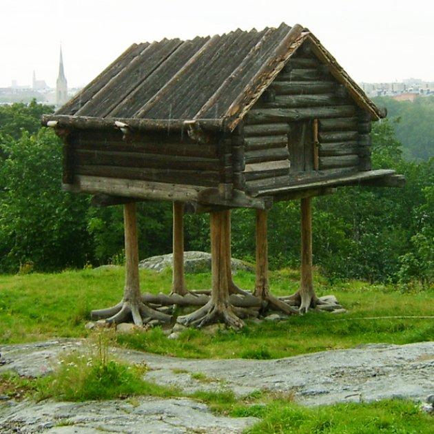 La madera en rollo estructural