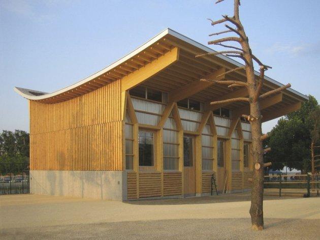 Vigas de madera laminada precio latest cubiertas de - Precio viga madera ...
