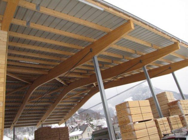 Madera laminada encolada estructural - Estructura madera laminada ...