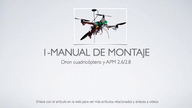 Manual de montaje de un dron f-450