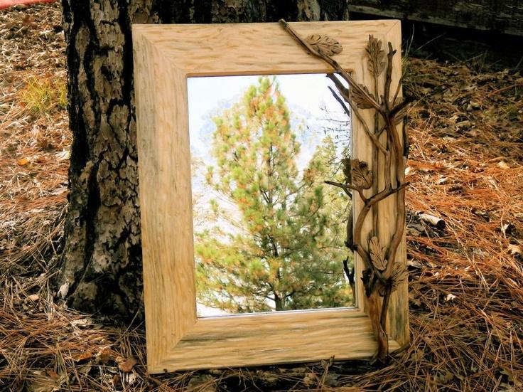 Enmarcar un espejo de manera original