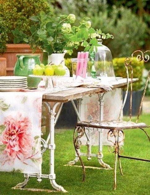 Muebles de terraza y de jardín