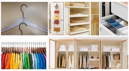 10 ideas para ahorrar espacio en tu armario - Como ordenar tu armario ...
