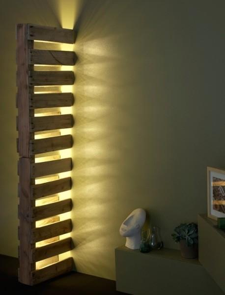 Cómo hacer lámparas con palets