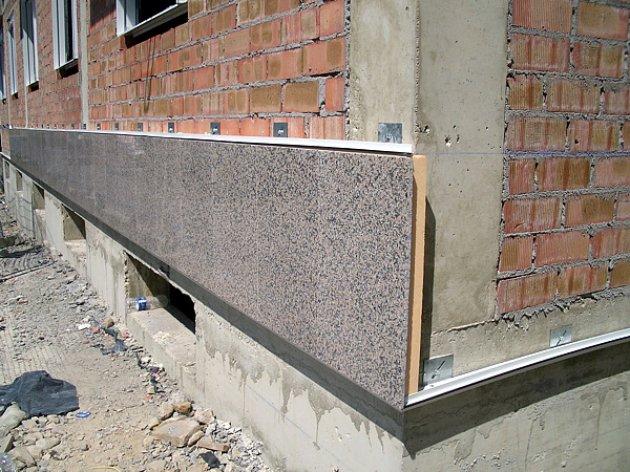 Panel aislante con revestimiento de piedra - Revestimiento en piedra para exterior ...