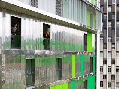 Paneles de chapa para fachadas y cerramientos - Cerramientos de fachadas ...