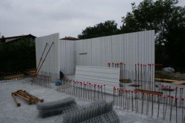 Paneles de poliestireno y cemento armado un sistema - Panel madera cemento ...