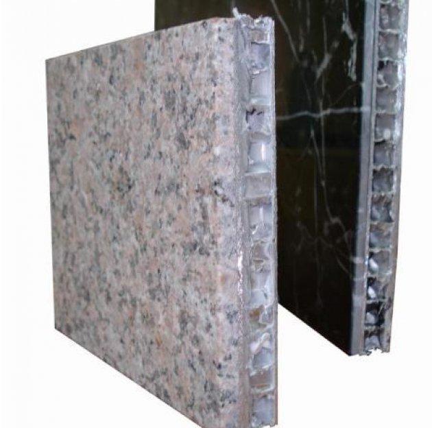Revestimientos ligeros de piedra para fachadas - Paneles piedra natural ...