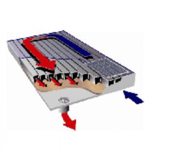Paneles solares para calentar el aire - Como calentar la casa ...