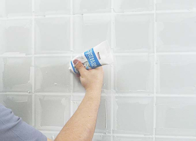 Como arreglar las juntas de los azulejos - Como blanquear las juntas de los azulejos ...